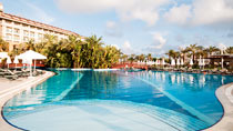 Kumköy Beach Resort – lapsiperheille, jotka haluavat lomallaan luksusta.