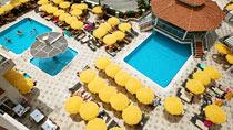 Villa Sunflower 1 – perhehotelli hyvillä lapsialennuksilla.