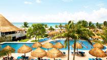Lapsiystävällinen hotelli Sandos Caracol Eco Resort & Spa.