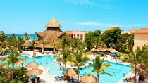All Inclusive Sandos Playacar Beach Resort & Spa-hotellissa.