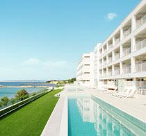Lapsiystävällinen hotelli White Lagoon Beach.
