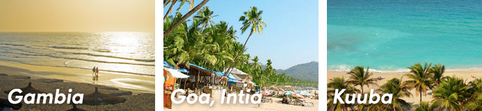Gambia, Goa, Kuuba