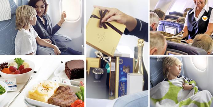 Lentoyhtiöiden palvelut tilauslennoilla