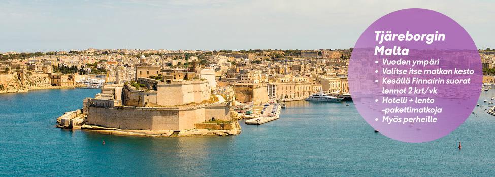 Matkat Maltalle
