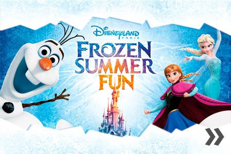 Kesäteema Disneyn Frozen