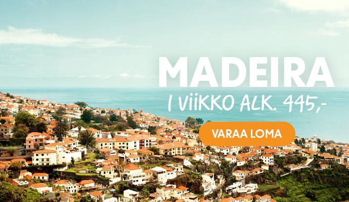 Matkat Madeiralle