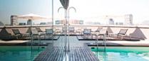 Hotellit, joissa uima-allas