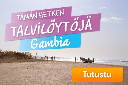 Talvilöytöjä – Gambia
