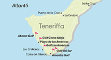 teneriffa kartta Teneriffan Kartta | Kartta