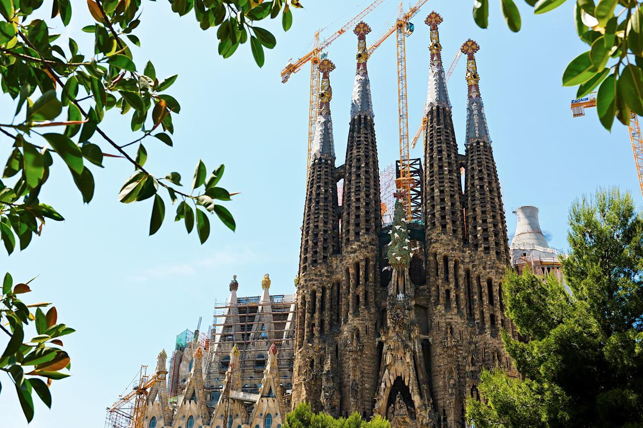 Espanja - La Sagrada Familia, Barcelona