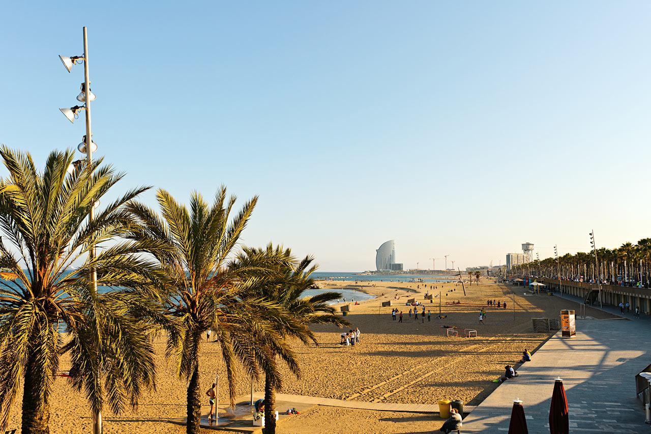 Espanja - Barcelonan uimaranta