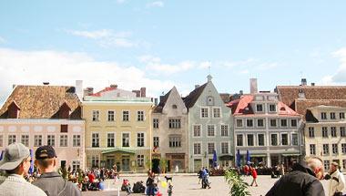 Tukholma, Helsinki, Pietari, Tallinna