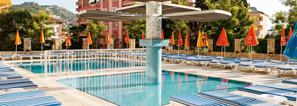 Villa Sunflower 1, Alanya, Antalyan alue, Turkki