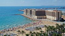 Meliá Alicante – perhehotelli hyvillä lapsialennuksilla.