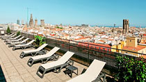 Citadines Ramblas Barcelona – perhehotelli hyvillä lapsialennuksilla.