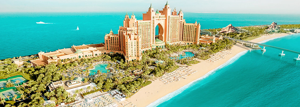 Atlantis The Palm, Jumeirah Beach, Dubai, Arabiemiraatit