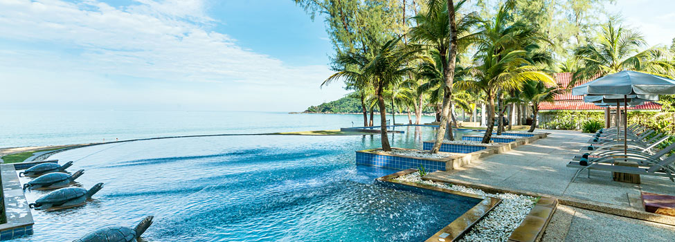 Emerald Beach Resort & Spa, Khao Lak, Phuket, Thaimaa