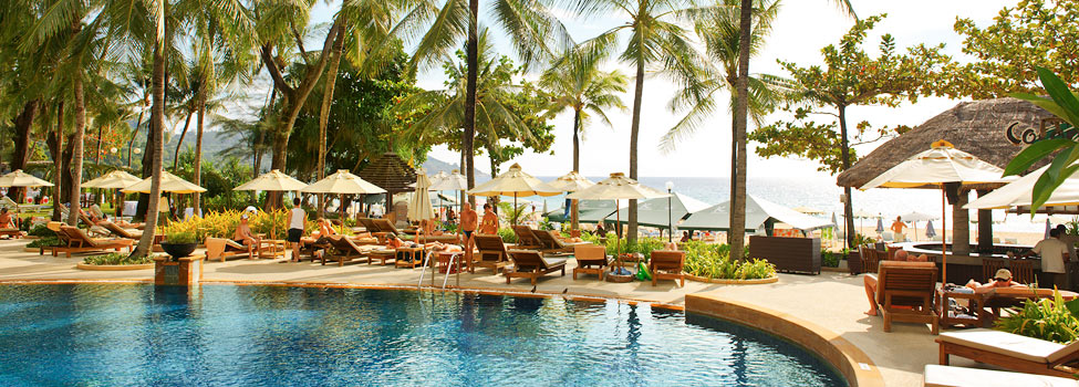 Katathani Phuket Beach Resort, Kata Beach, Phuket, Thaimaa