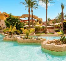 Lapsiystävällinen hotelli Waterworld Makadi Beach.