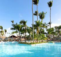 Lapsiystävällinen hotelli Grand Palladium Punta Cana Resort & Spa.