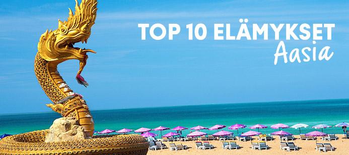 Top 10 Aasian nähtävyydet