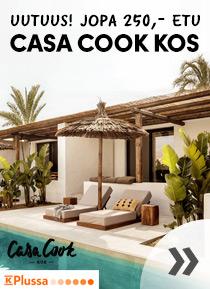 Uutuus! Casa Cook Kos