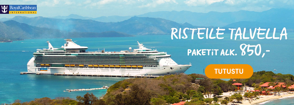Risteile Royal Caribbeanilla