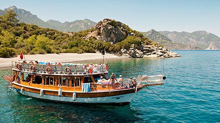 Kesän matkat Turkkiin