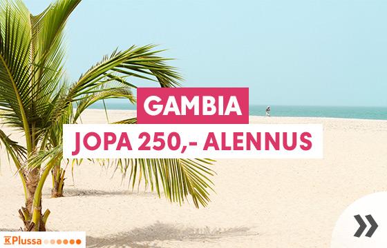Talvilöytö: Gambia
