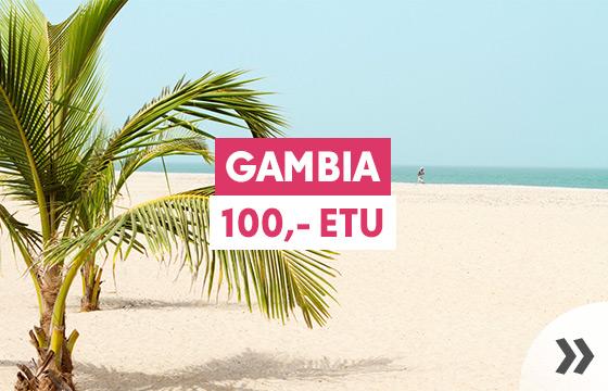 Talvilöyty: Gambia -100,-