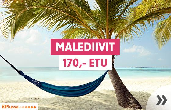Talvilöyty: Malediivit