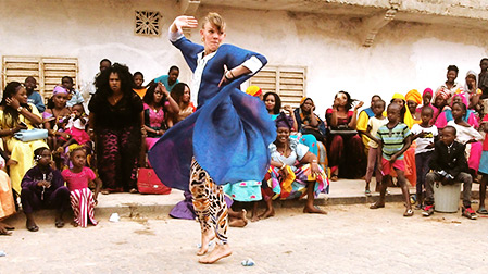 Tanssimatka Gambiaan